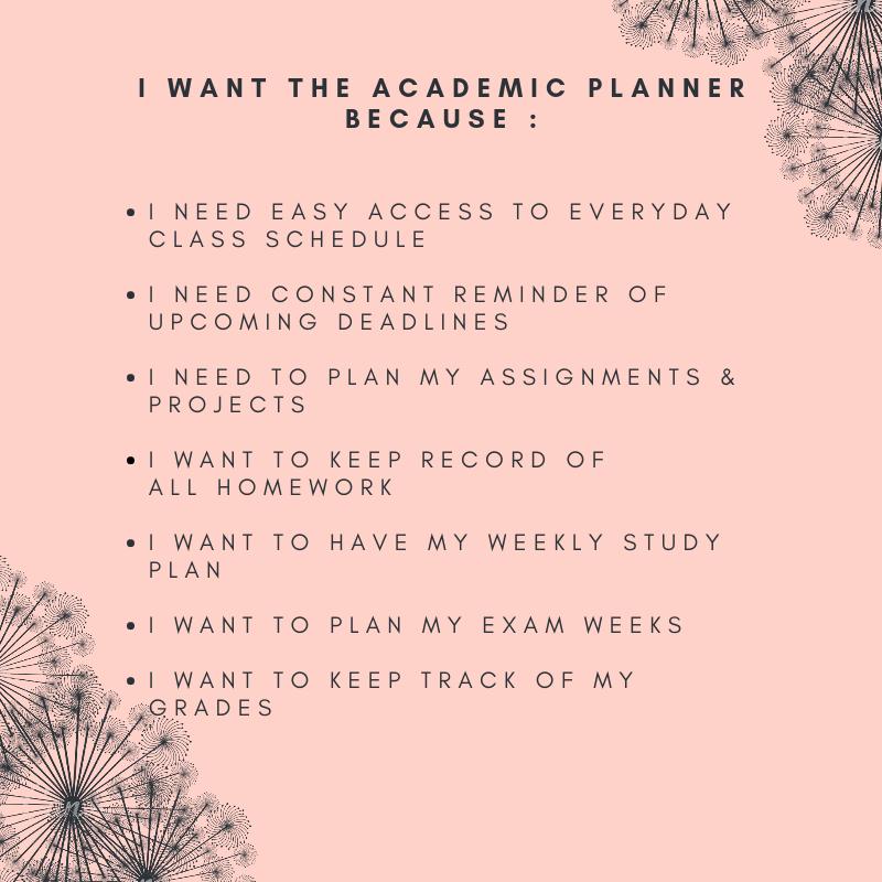 academic planner malaysia